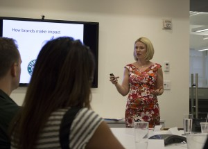 Inga Ezera Personal Branding workshop USA, New York 2015