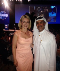 Inga Ezera & Mohammed Murad Toastmasters